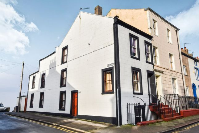 Thumbnail End terrace house for sale in High Street, Maryport
