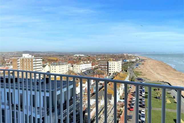 Thumbnail Flat for sale in Bayside Apartments, 62 Brighton Road, Worthing, West Sussex