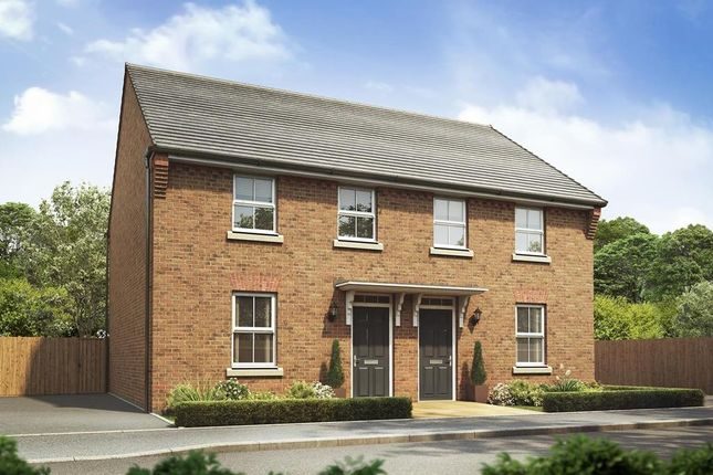 "Thumbnail Semi-detached house for sale in ""Washford"" at Bridlington Road, Stamford Bridge, York"