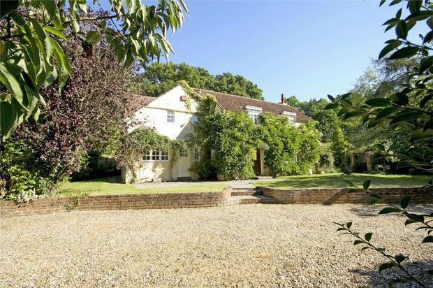 Thumbnail Detached house for sale in Shobley, Ringwood