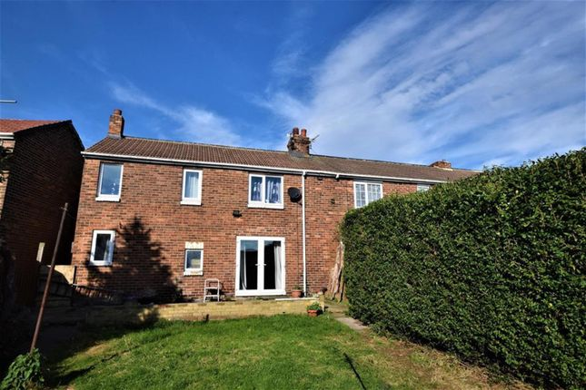 Thumbnail End terrace house for sale in George Avenue, Easington, County Durham