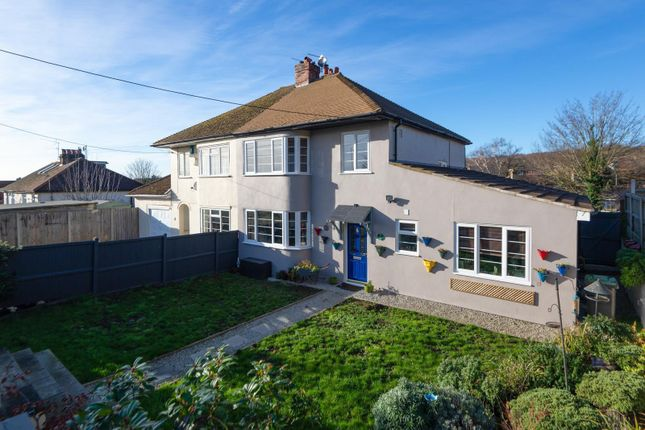 Semi-detached house for sale in Staines Hill, Sturry, Canterbury