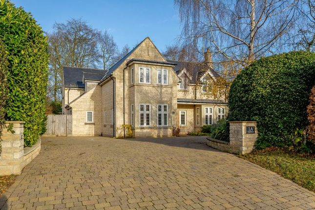Thumbnail Detached house for sale in Swanhill, Wansford, Peterborough