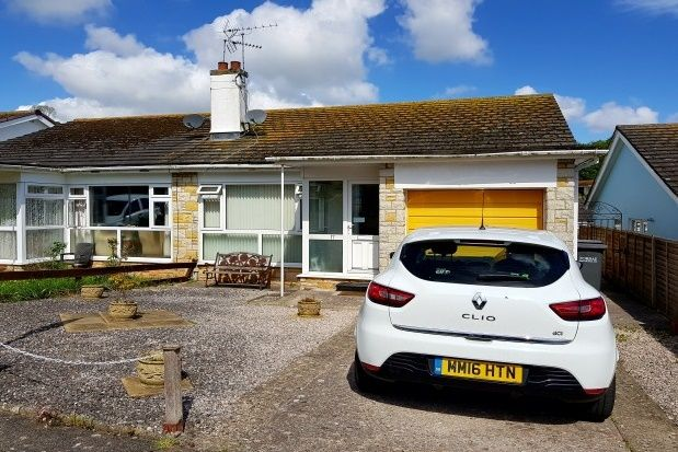 Thumbnail Bungalow to rent in Maple Close, Brixham