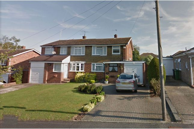Thumbnail Semi-detached house to rent in Carlisle Close, Basingstoke
