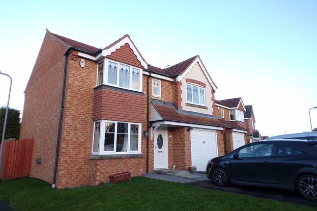 Thumbnail Detached house for sale in Nottingham Court, Bedlington