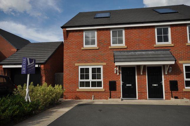 Thumbnail Semi-detached house to rent in Cae Babilon, Higher Kinnerton, Chester