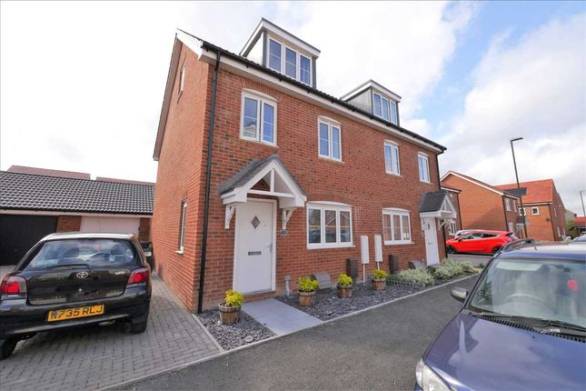 3 bed semi-detached house for sale in Linseed Way, Yapton, Arundel BN18