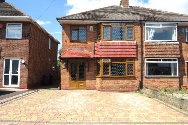 Thumbnail Semi-detached house to rent in Braymoor Road, Birmingham