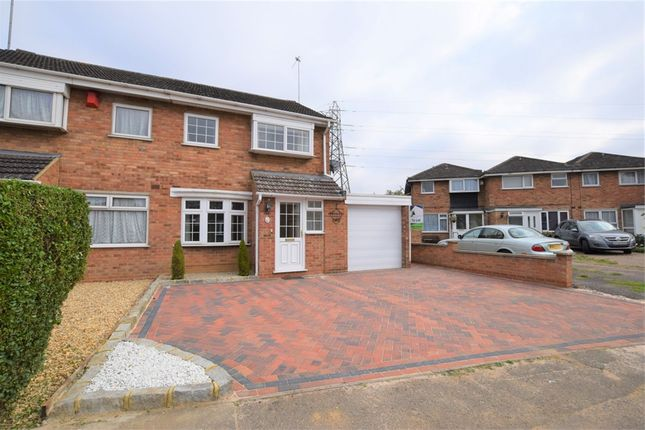 Thumbnail Semi-detached house to rent in 9 Annesley Close, Northampton