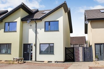 Thumbnail End terrace house for sale in 12 Woodlands Drive, Newton Stewart