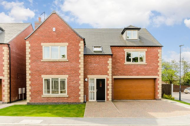 Thumbnail Detached house for sale in Oak Drive, Littleover, Derby