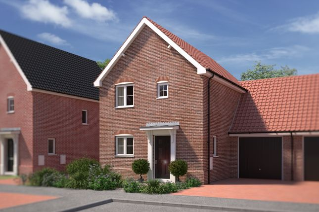 2 bed link-detached house for sale in Primrose Drive, Acle, Norwich NR13