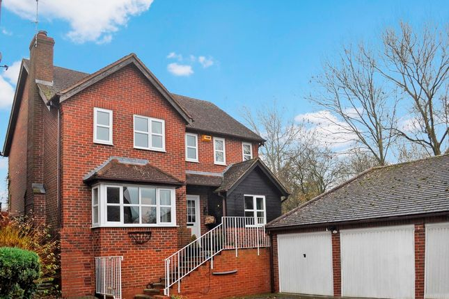 Thumbnail Detached house for sale in Elmers Meadow, North Marston, Buckingham