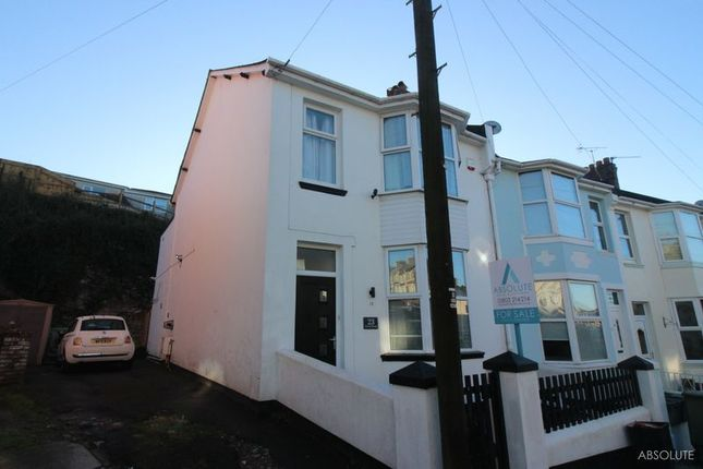 3 bed end terrace house for sale in Forest Road, Torquay