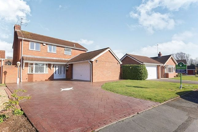 Thumbnail Detached house to rent in Turnberry Close, Wolverhampton