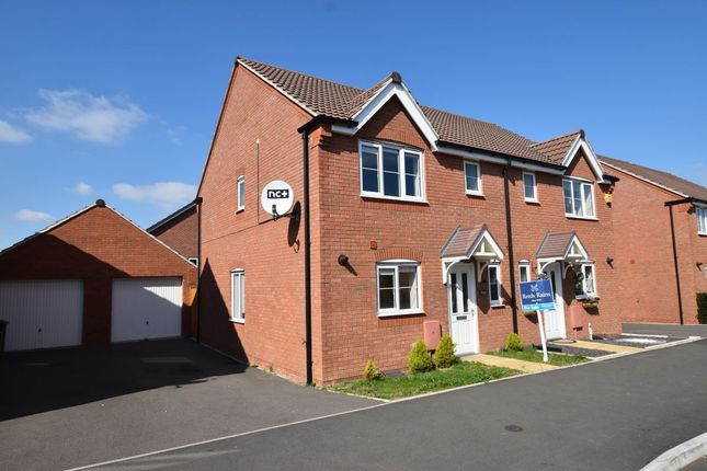 Thumbnail Semi-detached house for sale in Codling Road, Evesham