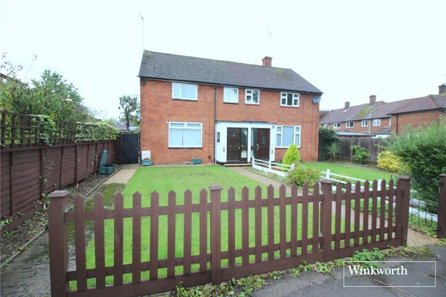 Thumbnail Semi-detached house for sale in Kenilworth Drive, Borehamwood
