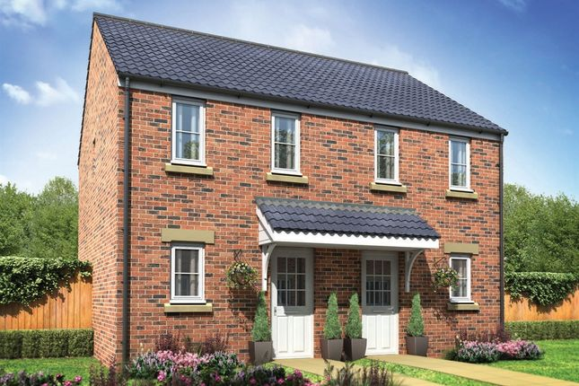 "Thumbnail Semi-detached house for sale in ""The Morden"" at Heol Llwyn Bedw, Hendy, Pontarddulais, Swansea"