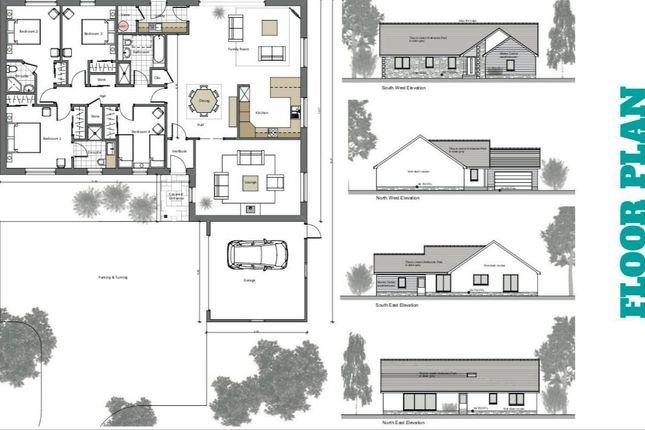 Thumbnail Detached bungalow for sale in Plot 2, Kellieside Park, Kellieside, Milnathort, Kinross