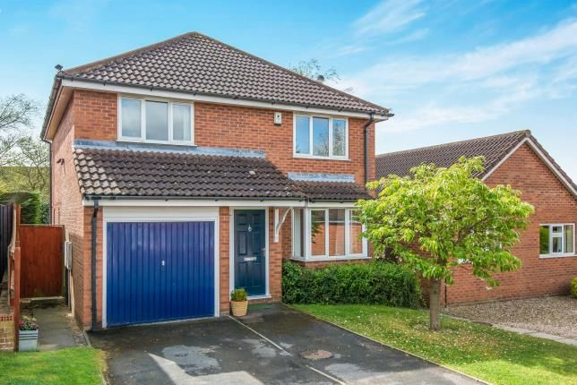 Thumbnail Detached house for sale in Stoke Holy Cross, Norwich, Norfolk