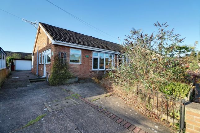 Thumbnail Semi-detached bungalow for sale in Town Hill Drive, Broughton, Brigg