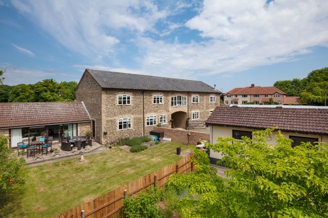 Thumbnail Barn conversion for sale in The Street, Snailwell, Newmarket