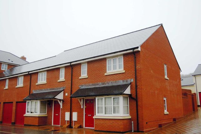 Thumbnail End terrace house for sale in Carnac Drive, Dawlish