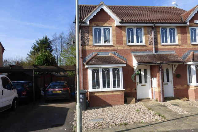 Thumbnail Semi-detached house for sale in Mead Road, Abbeymead, Gloucester
