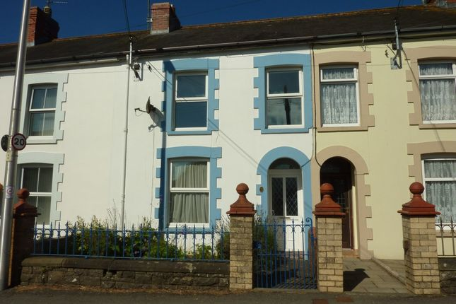 Thumbnail Terraced house for sale in North Road, Whitland, Carmarthenshire