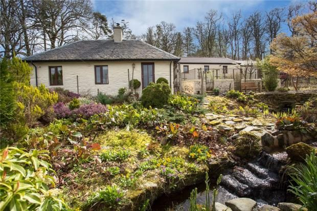Lodge cottage and kennels cottage kilfinan tighnabruaich for Country cottage kennel