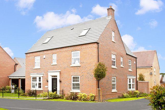 "Thumbnail Detached house for sale in ""Moorecroft"" at Fosse Road, Bingham, Nottingham"