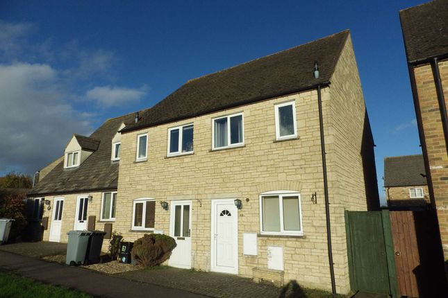 Thumbnail Terraced house to rent in Barrington Close, Witney, Oxfordshire