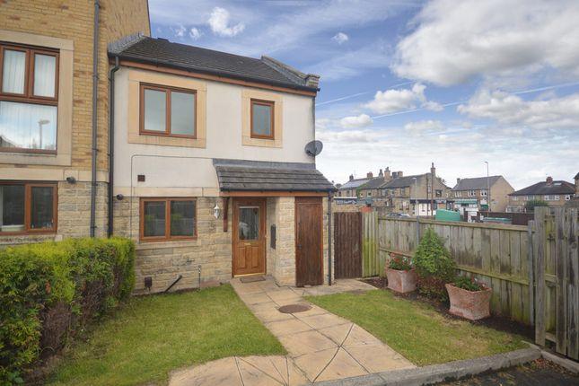 Thumbnail End terrace house for sale in Greenlea Court, Dalton, Huddersfield