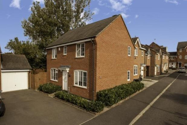 3 bed detached house to rent in Erringtons Close, Oadby, Leicester