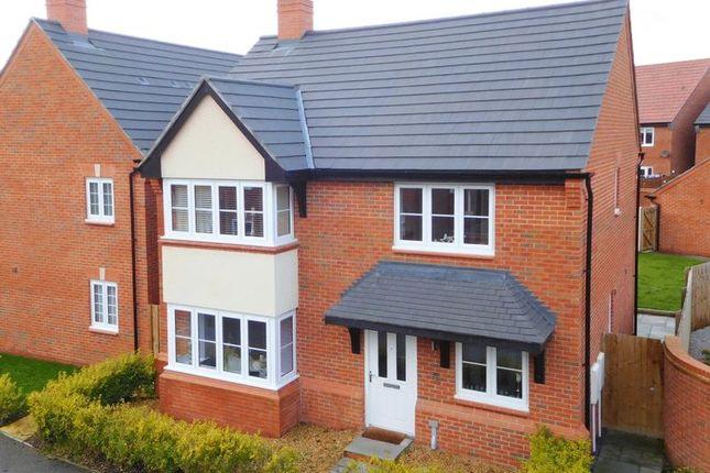 Thumbnail Detached house for sale in Mallard Avenue, Edleston, Nantwich