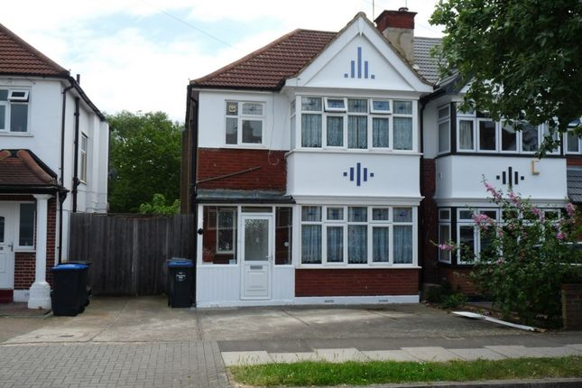 Thumbnail Semi-detached house for sale in Regal Way, Kenton