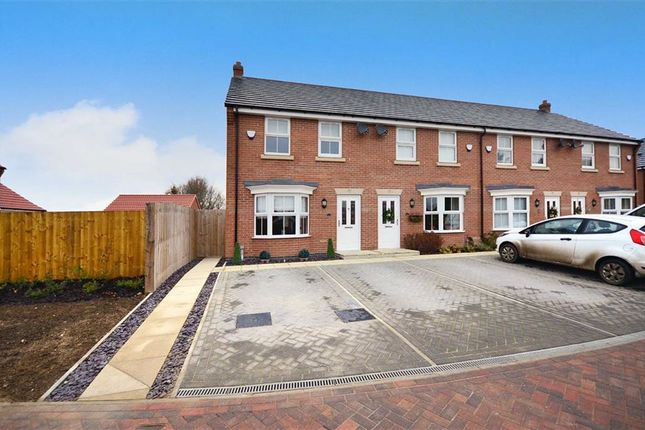 Thumbnail End terrace house for sale in Wentworth Close, Sandholme Road, Brough