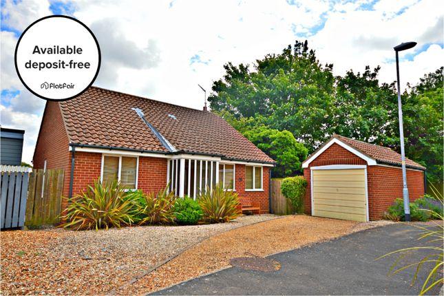 Thumbnail Detached bungalow to rent in Mill Green, Burnham Market, King's Lynn