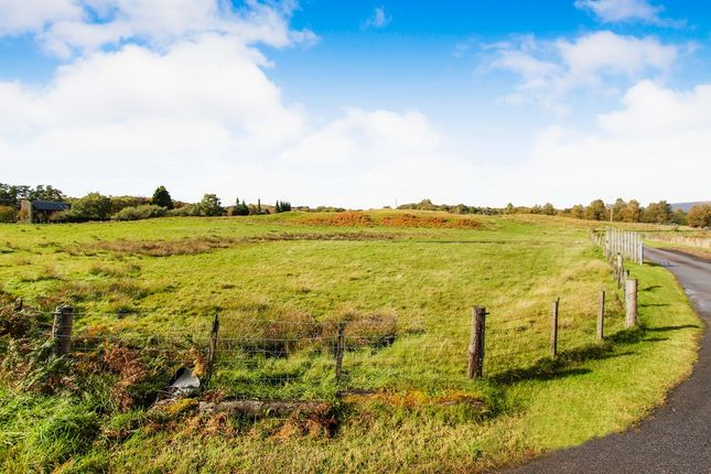 Thumbnail Land for sale in Taynuilt, Argyll