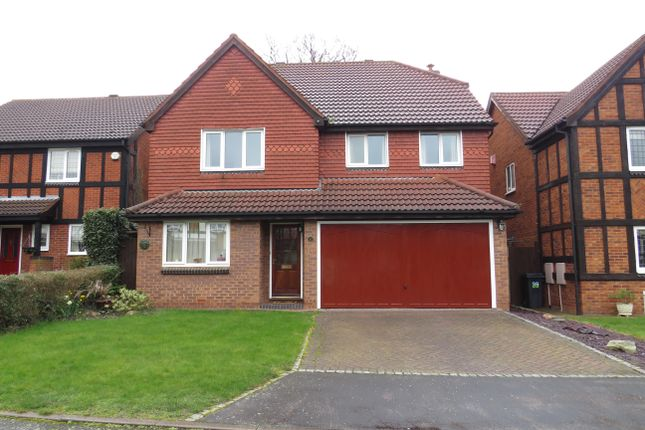 Thumbnail Detached house to rent in Monkspath, Walmley, Sutton Coldfield
