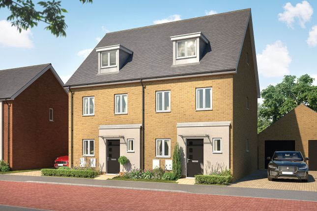 Thumbnail Semi-detached house for sale in Ram Gorse, Harlow
