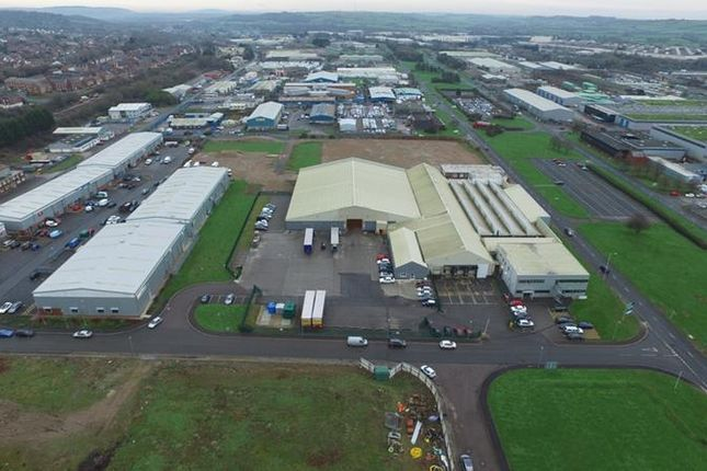 Thumbnail Warehouse for sale in Central Park, Western Avenue, Bridgend Industrial Estate, Bridgend