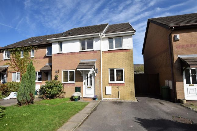 Thumbnail End terrace house for sale in Maes Y Grug, Church Village, Pontypridd