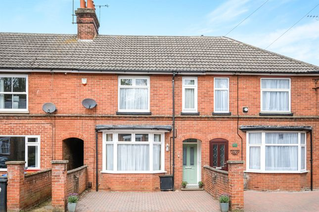 Thumbnail Terraced house for sale in Grange Road, Ipswich
