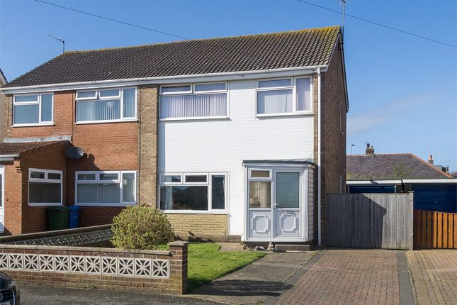 Thumbnail Semi-detached house for sale in Beaconsfield, Withernsea, East Riding Of Yorkshire