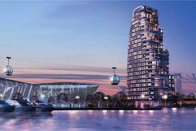 2 bed property for sale in The Pump Tower, Royal Victoria Dock, London