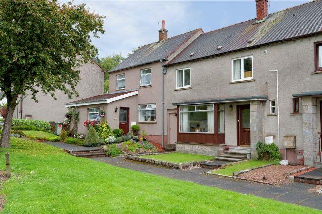 Thumbnail Terraced house for sale in Fir Park, Tillicoultry, Clackmannanshire