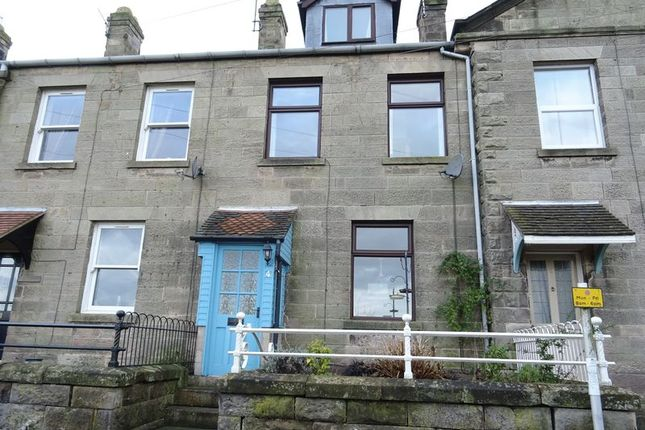 Thumbnail 3 bed terraced house to rent in Doveside, Mayfield, Ashbourne
