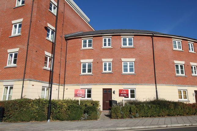 Thumbnail Town house to rent in Brookbank Close, Cheltenham